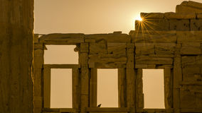 Die Akropolis, Athen Lizenzfreie Stockfotografie