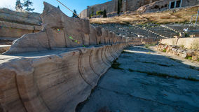 Die Akropolis, Athen Stockbilder