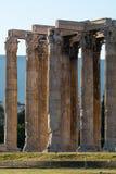 Die Akropolis, Athen Stockbild