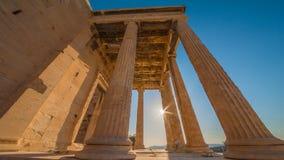 Die Akropolis, Athen Lizenzfreie Stockbilder
