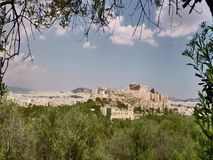 Die Akropolis in Athen Griechenland, stock video