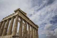 Die Akropolis von Athen lizenzfreies stockbild