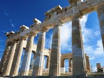 Die Akropolis von Athen, Griechenland stockfotos