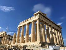 Die Akropolis von Athen, Griechenland lizenzfreies stockfoto