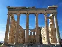 Die Akropolis von Athen, Griechenland lizenzfreie stockfotos