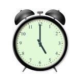 Die Alarmuhr stock abbildung