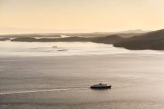 Die Alaska-Fähre Lizenzfreie Stockfotografie