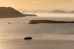 Die Alaska-Fähre Stockfotos