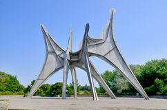 Die Alexander Calder-Skulptur Stockbilder