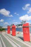 Die Allee der Sterne in Hong Kong Lizenzfreies Stockbild