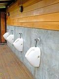 Die allgemeine Toilette der Männer Stockbild