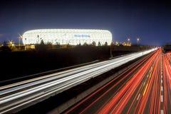 Die Allianz-Arena München lizenzfreie stockbilder