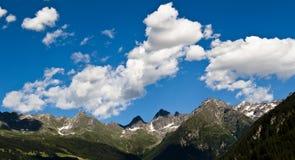 Die Alpen Stockbild