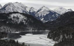 Die Alpen Lizenzfreie Stockbilder