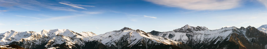 Die Alpen Stockfotografie
