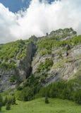 Die Alpen im Sommer, Frankreich. Berg Stockbilder