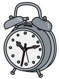 Die alte Alarmuhr lizenzfreie abbildung