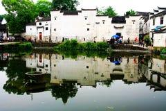 Die alte Architektur in zhuge bagua Dorf, die alte Stadt des Porzellans stockbild