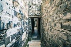 Die alte Backsteinmauer Lizenzfreies Stockfoto