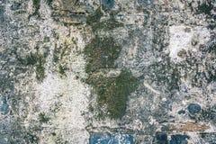 Die alte Backsteinmauer Stockfoto