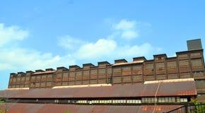 Die alte Bethlehem- Steelanlage Stockbild