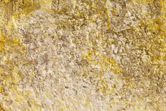 Die alte Betonmauer Stockfotos
