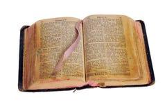 Die alte Bibel Lizenzfreies Stockfoto