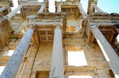 Die alte Bibliothek in der Türkei Lizenzfreie Stockfotografie