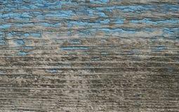 Die alte blaue Farbe ziehen weg ab Lizenzfreies Stockbild
