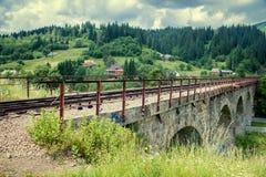 Die alte Brücke Stockbilder