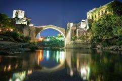 Die alte Brücke, Mostar Lizenzfreies Stockfoto