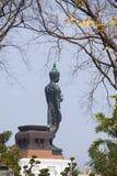 Die alte Buddha-Statue Stockfotografie