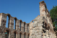 Die alte byzantinische Kirche. Lizenzfreies Stockbild
