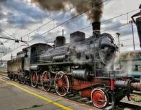 Die alte Dampf-Motor-Serie Lizenzfreies Stockfoto