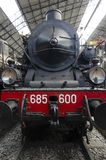 Die alte Dampf-Motor-Serie stockfotos