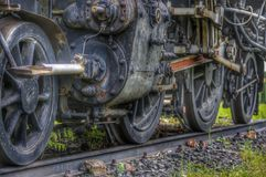 Die alte Dampf-Motor-Serie Lizenzfreie Stockbilder
