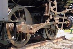 Die alte Dampf-Motor-Serie lizenzfreies stockbild