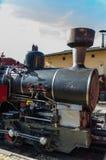 Die alte Dampf-Motor-Serie Stockbilder