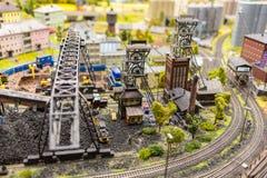 Die alte Fabrik im Großartig-Spott-Museum ist die Stadt von St Petersburg Stockbilder