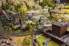 Die alte Fabrik im Großartig-Spott-Museum ist die Stadt von St Petersburg Stockfotos