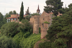 Die alte Festung in Tiflis Lizenzfreie Stockfotografie