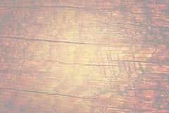 Die alte hölzerne Beschaffenheit mit natürlichen Mustern und Sprüngen auf dem sur Stockbild