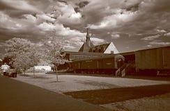 Die alte Immigration-Bahnstation Lizenzfreie Stockfotos