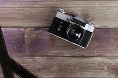 Die alte Kamera lizenzfreies stockbild