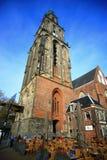 Die alte Kirche AA-kerk oder die Kirche Der AA Stockfotografie
