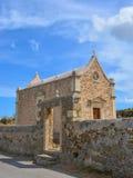 Die alte Kirche, Griechenland. Stockbild