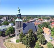 Die alte Kirche in Nordhorn Lizenzfreie Stockbilder