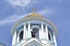 Die alte Kirche in Ukraine Lizenzfreies Stockfoto