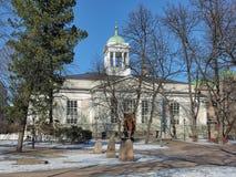 Die alte Kirche von Helsinki, Finnland Stockfotografie
