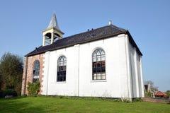 Die alte Kirche von Jukwerd lizenzfreie stockfotos